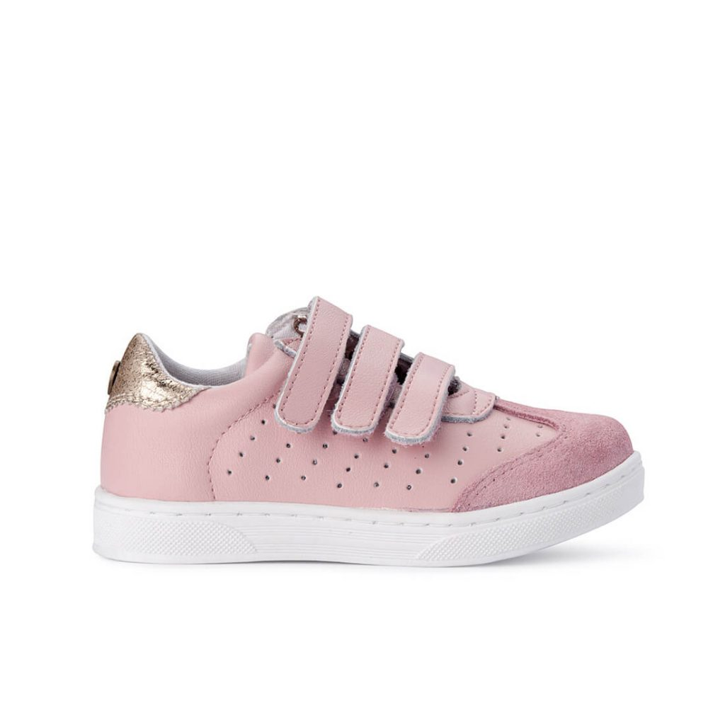 Andy Leather Sneaker – Pink Blush side