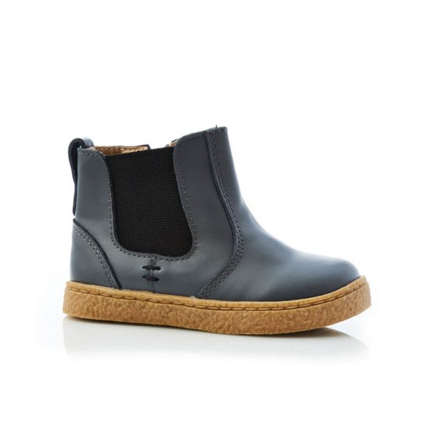 Bobby Boot - Black Charcoal side