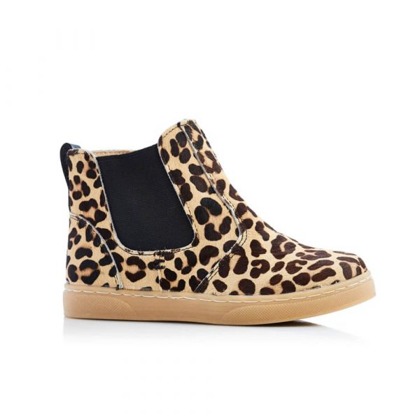 Jamie G Leopard Boot - Leopard Print side