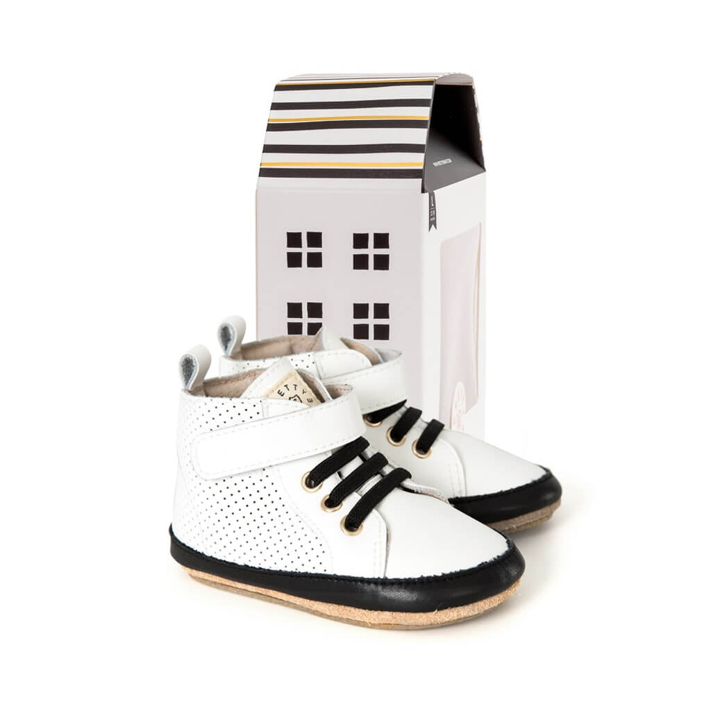 Pretty Brave Baby Shoes Hi Top Boot White House